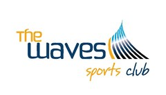 Logo for The Waves Sports Club CMYK Page 001